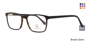 Brown Demi CIE SEC146 Eyeglasses.