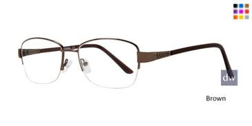 Brown Affordable Design Sadie Eyeglasses