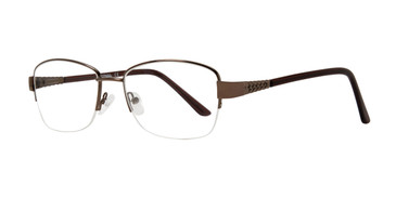 Brown Affordable Design Sadie Eyeglasses