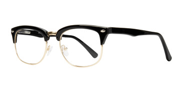 Black Gold Affordable Design Malcolm Eyeglasses