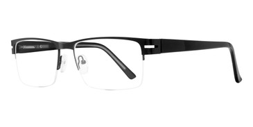 Black Affordable Design Scott Eyeglasses