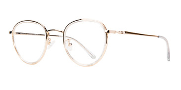 Gold Brooklyn Heights Utica Eyeglasses- Teenager