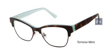 Tortoise Mint L.A.M.B LA064 Eyeglasses