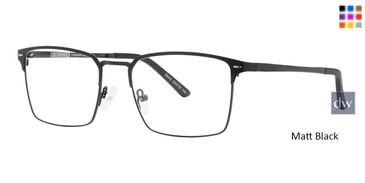 Matt Black Vivid Collection 2032 Eyeglasses