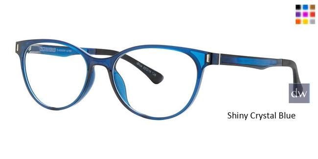 Shiny Crystal Blue Vivid Collection 2033 Eyeglasses