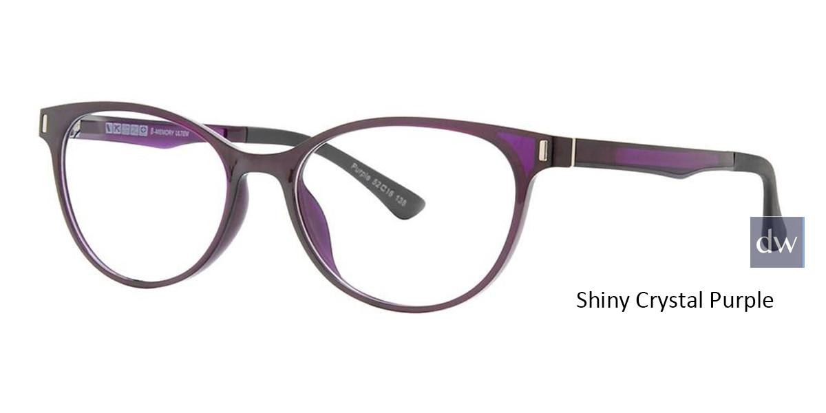 Shiny Crystal Purple Vivid Collection 2033 Eyeglasses
