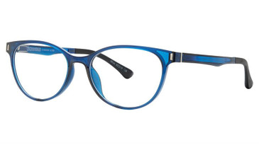 Shiny Crystal Blue Vivid Collection 2033 Eyeglasses