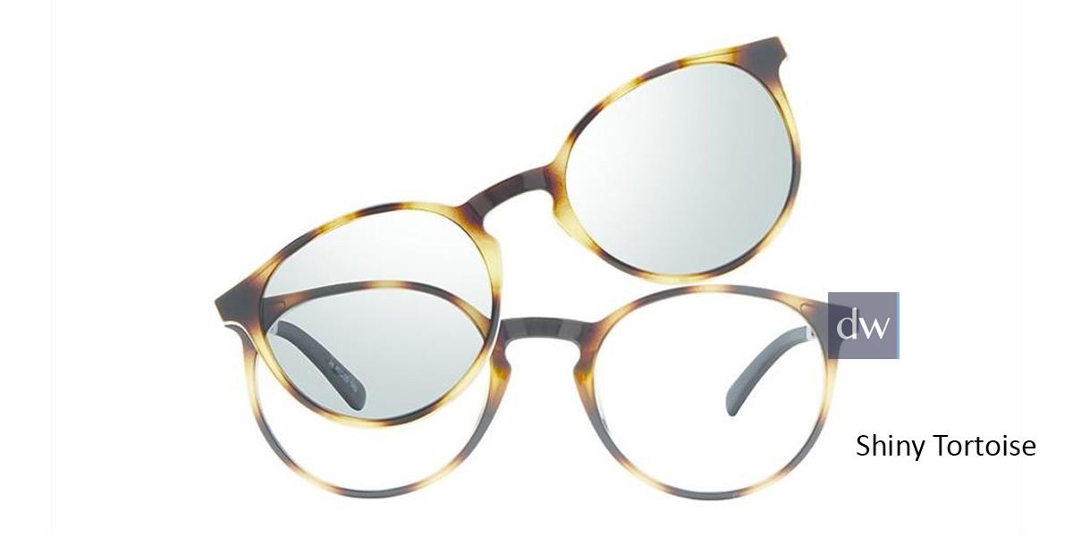 Shiny Tortoise Vivid Collection 6022 Eyeglasses - Teenager