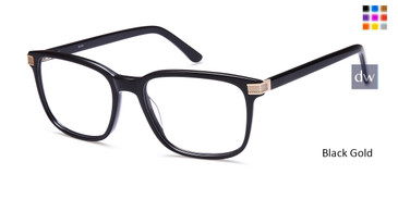 Black Gold Capri DC184 Eyeglasses