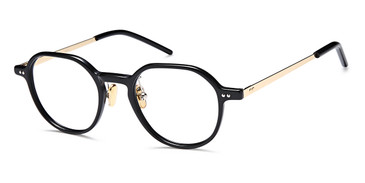 Black Gold Capri Dicaprio DC335 Eyeglasses - Teenager