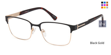 Black Gold Capri DC182 Eyeglasses