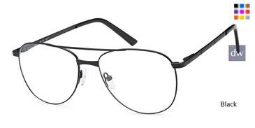 Black Capri DC180 Eyeglasses