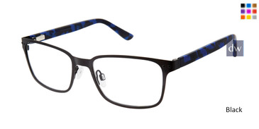 Black Zuma Rock ZR004 Eyeglasses.