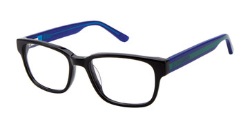 Black Zuma Rock ZR003 Eyeglasses - Teenager.