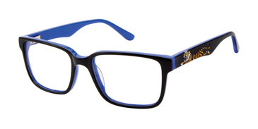 Black Zuma Rock ZR001 Eyeglasses.