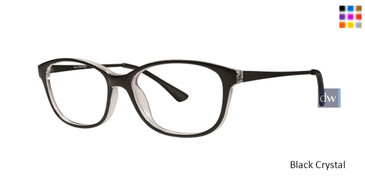 Black Crystal Gallery Winifred Eyeglasses