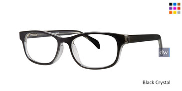 Black Crystal Gallery Devin Eyeglasses