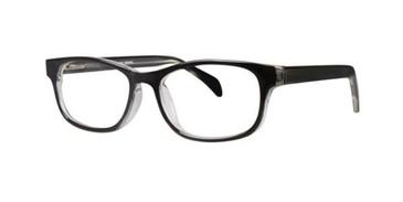 Black Crystal Gallery Devin Eyeglasses