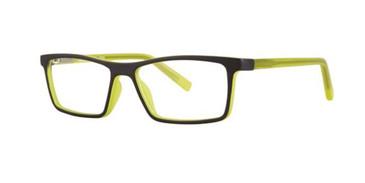 Black/Yellow Gallery Finn Eyeglasses - Teenager
