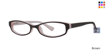 Brown Gallery Avery Eyeglasses - Teenager