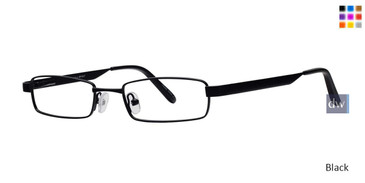 Black Gallery Bryant Eyeglasses - Teenager