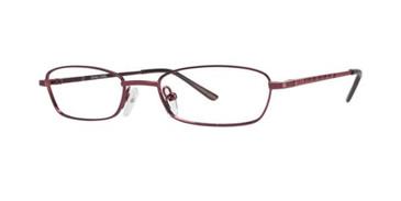 Burgundy Gallery Case Eyeglasses - Teenager