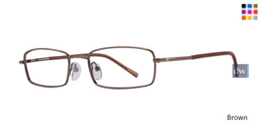 Brown Gallery Preston Eyeglasses
