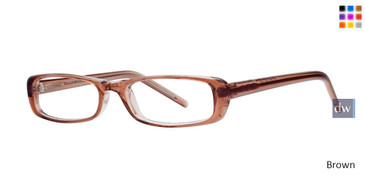 Brown Gallery Evita Eyeglasses - Teenager