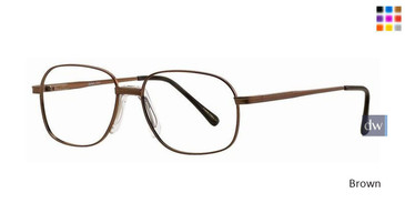 Brown Gallery Chet Eyeglasses - Teenager