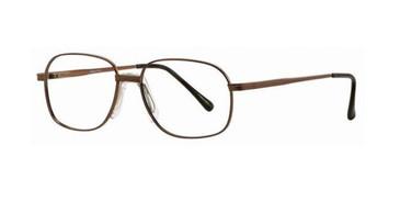 Brown Gallery Chet Eyeglasses - Teenager
