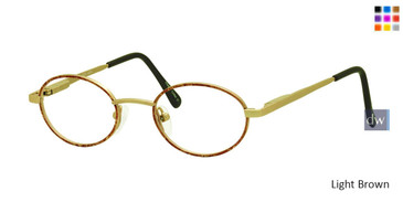 Light Brown Gallery G514 Eyeglasses