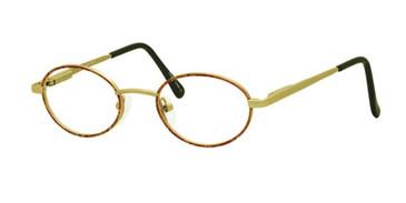 Light Brown Gallery G514 Eyeglasses