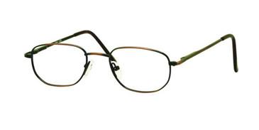 Antique/Brown Gallery G522 Eyeglasses - Teenager