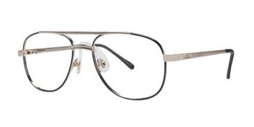 Black/Yellow Gold Gallery Antonio Eyeglasses