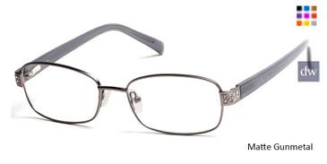 Matte Gunmetal Viva VV0323 Eyeglasses.