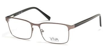 Matte Gunmetal Viva VV4021 Eyeglasses.