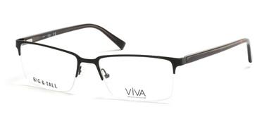 Matte Black Viva VV4025 Eyeglasses.