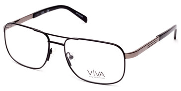 Matte Black Viva VV4030 Eyeglasses.