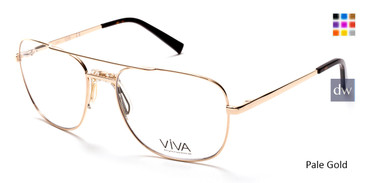 Pale Gold  Viva VV4037 Eyeglasses.