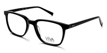 Shiny Black Viva VV4038 Eyeglasses