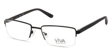 Matte Black Viva VV4039 Eyeglasses.