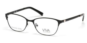 Matte Black Viva VV4506 Eyeglasses.