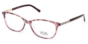 Dark Brown Viva VV4509 Eyeglasses.