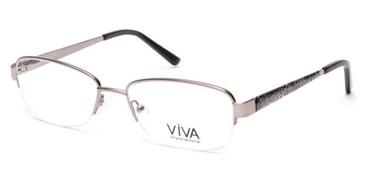 Shiny Gunmetal Viva VV4512 Eyeglasses.
