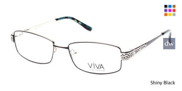 Shiny Black Viva VV4513 Eyeglasses.