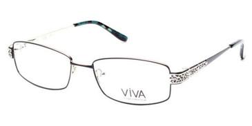 Shiny Black Viva VV4513 Eyeglasses.