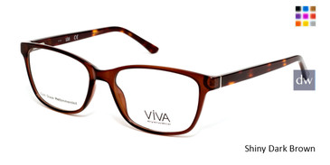 Shiny Dark Brown Viva VV4515 Eyeglasses