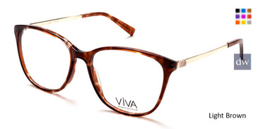 Light Brown Viva VV4516 Eyeglasses.