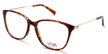 Light Brown Viva VV4516 Eyeglasses.