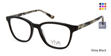 Shiny Black Viva VV4517 Eyeglasses.